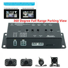 360 Degree Full Range Parking View Intelligent Vehicle DVR&Video Driving Monitor