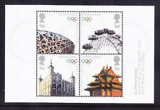 GB 2008 mini-sheet 2861 - Handover Olympic Flag - unmounted mint. Catalogue £5
