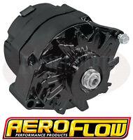 Holden HQ HJ HX HZ WB 253 308 V8 Aeroflow Black Alternator 100 Amp Internal Reg