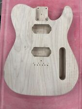 Custom Unfinished Pine Hybrid Guitar Body Telecaster With Humbuckers