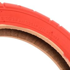 Electric Scooter Tire Stable Performance 10x2 Inflatable Tire Easy To Use Red