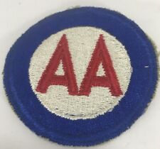 Anti Aircraft AA Embroidered Patch Military Embroidered Cloth