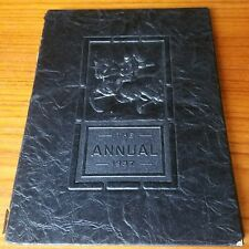 1937 Chester, PA. Annual High School Yearbook many autographs
