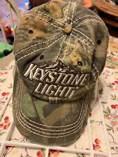 Keystone Light Beer Camo Snapback Cap