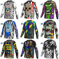 Cycling Jersey Long Sleeve Road MTB Bike Motocross Clothes Downhill Cycle Jacket