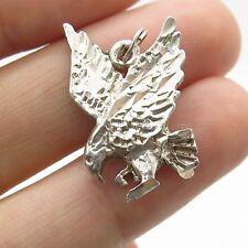 SU 925 Sterling Silver Eagle Pendant