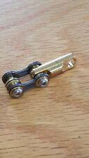 Edc Titanium Bike Link Connector Kit w/Swivel for Carabiner, Keychain, Key Ring