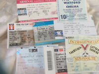 FA CUP SEMI FINAL TICKETS - CHOOSE FROM LIST - 1970 - 2007 CHELSEA MANCHESTER