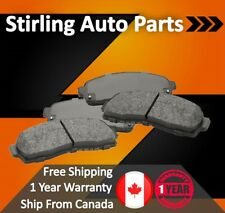 2007 2008 2009 For Volvo S80 Front Semi Metallic Brake Pads w/316mm 336mm Rotor
