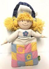 Nora Cloth Pajamas Doll Sleeping Bag Set Rich Frog Usa Toy