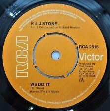 "R & J Stone – We Do It/We Love Each Other 7"" Vinyl Single 1975 Soul Rca2616 Uk"