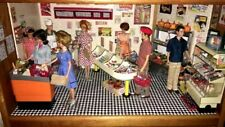 New ListingVintage Barbie Ken Doll Lot Diorama Grocery Store Miniatures *So Cool*