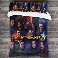 Descendants 3 Bedding Set Duvet Cover Pillowcases Comforter Cover US Size Gifts