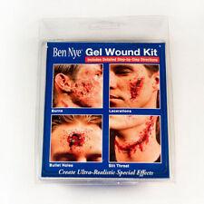 Ben Nye Effects Gel Wound Kit 1 fl oz bottles Theatrical Stage Makeup GE-10