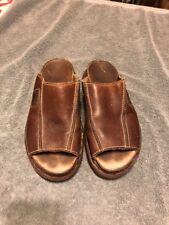 Dr. Marten Leather Slip On Sandals Adult Size 8 Made In Endland