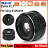 Meike 35mm f/1.7 APS-C Large Aperture Manual Focus Fixed Lens for Sony E Mount