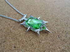 Once Upon A Time Necklace Zelena Wicked Witch of the West Oz The Wizard of #1