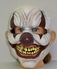 Adult Chomp Clown Latex Face Mask Halloween Costume Accessory Tb22027