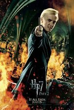 "Harry Potter movie poster - Deathly Hallows 11"" x 17"" Tom Felton poster (b)"