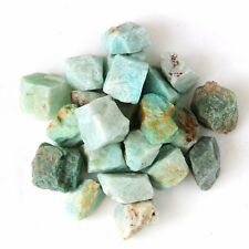 wholesale 5LBs natural Amazonite rough crystal gemstone 1inch size 100pcs up