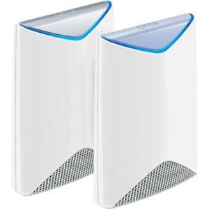New Unopened. NETGEAR SRK60 Orbi Pro AC3000 Tri Band Whole Home Wi-Fi System