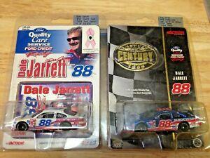 DALE JARRETT1/64 DIECAST NASCAR lot (2) quality care &last lap special producti
