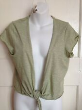 Ladies  Pale Green Tie-up Top - Size 18 - Per Una - Marks & Spencer