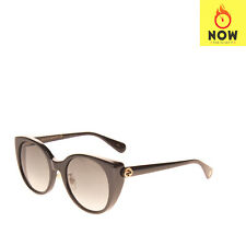 RRP €305 GUCCI Butterfly Sunglasses Gradient Lenses Bee Logo Made in Italy