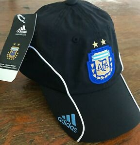 Argentina 2010 Adidas AFA soccer training cap. Official only for players. NEW