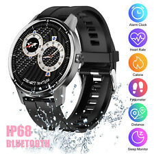 Smart Watch Blood Pressure Heart Rate Monitor Fitness Tracker for iOS Android US