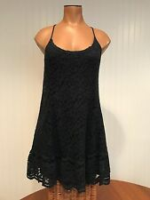 Sexy Abercrombie And Fitch Navy Open Back Lace Dress Size M