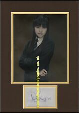 Katie Leung Cho Chang Harry Potter Goblet of Fire Autograph UACC