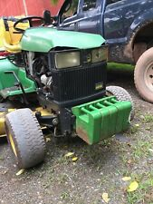 John Deere 455 Hood AM128986 445 425 Lawn Mower Garden Tractor Faded Broken