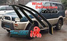NISSAN Terrano II  1993 - 2004   Wind deflectors 4.pc  HEKO  24231