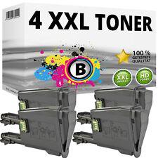 4x XXL TONER PATRONEN für Kyocera Mita FS1061DN FS1325MFP SET Black TK1125