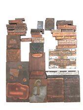 Vintage American Beauty Soldering Adv Copper Printing Block Plates Dies, Lot #6