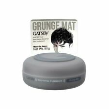 Gatsby Moving Rubber, Grunge Mat, 80g For Men + Free Shipping