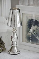Teelichtlampe Kerzenlampe Kerzenleuchter Bauernsilber Leuchter Shabby Landhaus g