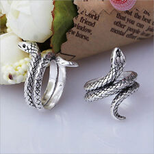 Fashion Punk Cobra Snake Shape Alloy Finger Ring Men Statement Jewelry Gift Cute