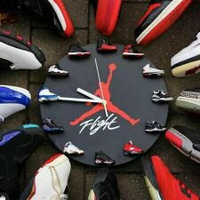 New 3D Mini Sneakers Clock Magnetic Fixed aj1-12 instead of numbers