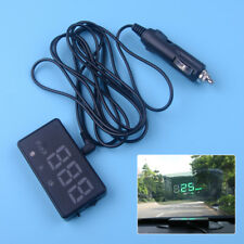 Universal Head Up Car GPS Speedometer HUD Overspeed Alarm MPH/KM/h Plug & Play