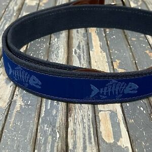 The Belted Cow Rogue Fish Tab Belt 40/100 Mens Size 40