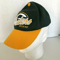 Green Bay Packers NFL Team Apparel One Size Hook And Loop Adjustable Hat