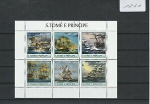 (1261) Sao Tomé und Principe 2003, Segelschiffe des 18. Jahrhunderts