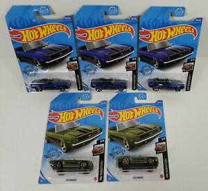 Lot of 5 Hot Wheels '69 Camaro Chevrolet 2020 HW Roadsters
