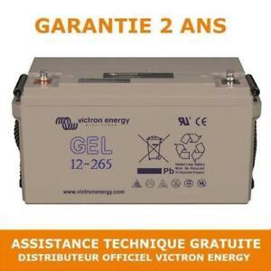 Victron Energy GEL Batterie de Loisirs à Décharge Lente 12V/265AH - BAT412126101