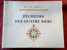 PECHEURS DES QUATRE MERS. R. VERCEL. AL. BRENET. MARIN-MARIE. MATHURIN MEHEUT.