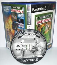 ARMY MEN SARGE'S HEROES 2 - Playstation 2 Ps2 Play Station Bambini Gioco Game