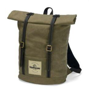 ****Northcore Waxed Canvas Backpack - Khaki