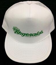 Vintage 1980's Las Vegas Fitzgerald's Irish Hotel & Casino Foam/Mesh 80s Hat/Cap
